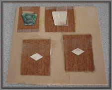 Examples placed in veneer slots